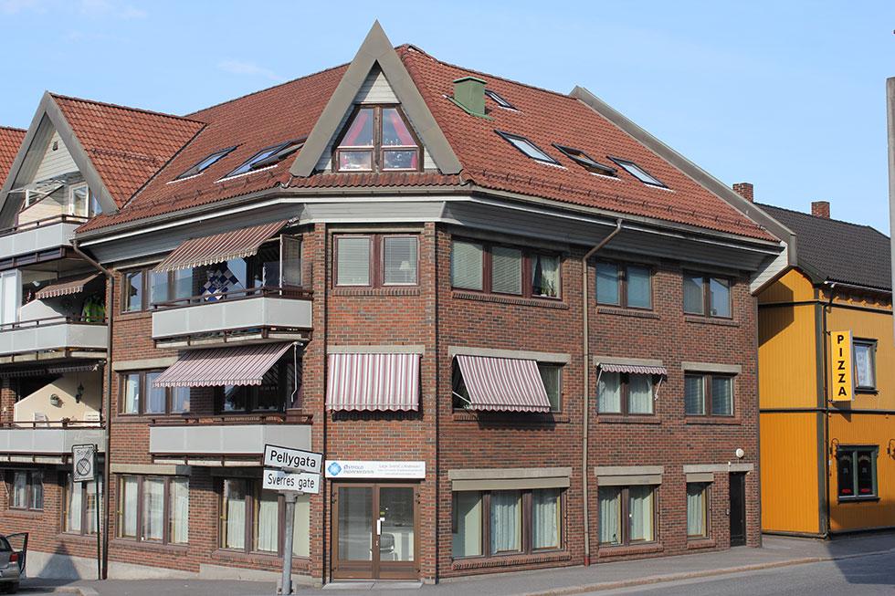 Fasade til Østfold Indremedisin AS